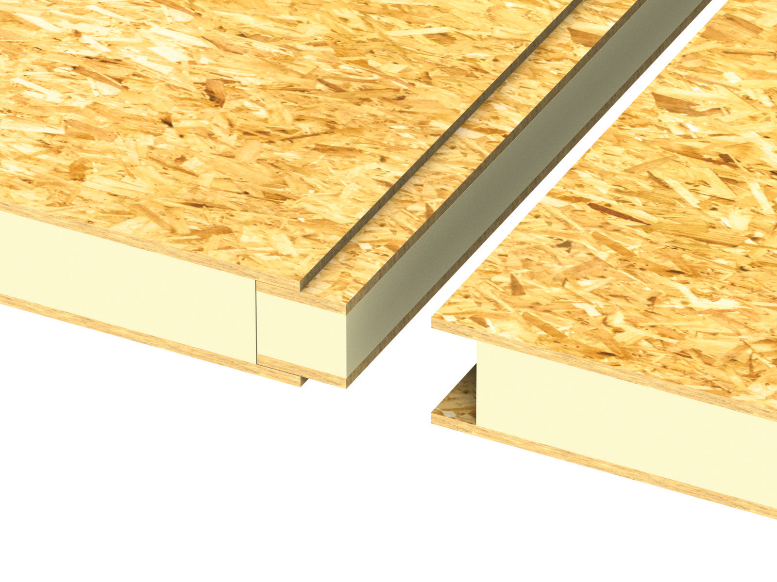 Wall Structural Insulated Panels : Typical details of construction elements ecotek